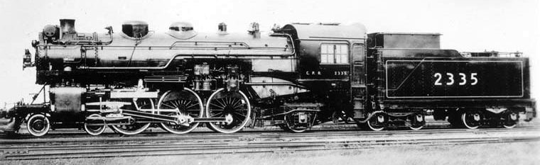 Image result for canadian pacific 4-6-2 locomotives